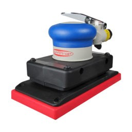 "3"" x 7"" Storm 10,000 RPM Air Powered Orbital Sander - Self-Generated Vacuum"