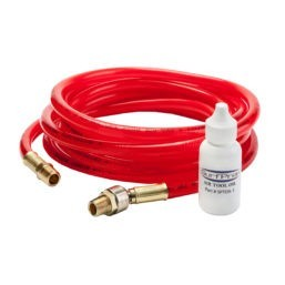 air hose and oil