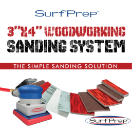 3x4 SurFPrep woodworking sanding system