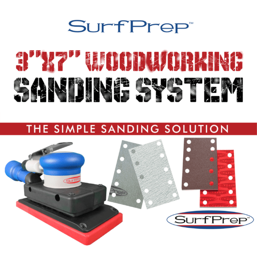 3x7 woodworking sanding system