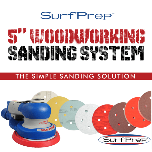 5 in woodworking sanding system