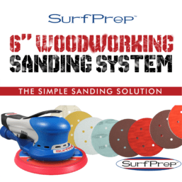 6 in woodworking sanding system