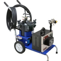Apollo Precision-5 Pro LE Mobile Fluid Cart Complete HVLP System