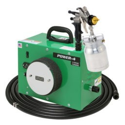 STAGE TURBO SPRAY SYSTEM WITH SPRAY GUN AND 24′ AIR FLEX HOSE