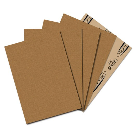 SURFPREP 9″ X 11″ SANDPAPER SHEETS brown