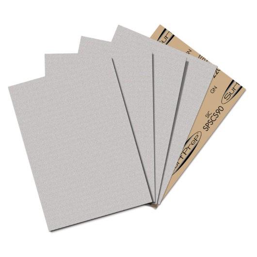 SURFPREP 9″ X 11″ SANDPAPER SHEETS gray