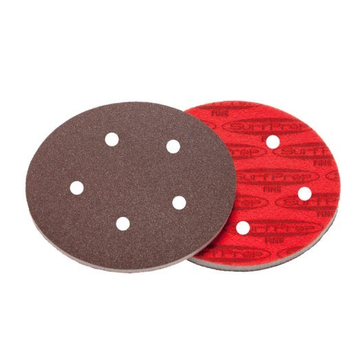 SurfPrep 5″ Foam Pads – 5MM Thick (Premium Red A/O)
