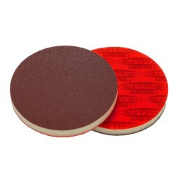 SurfPrep 5″ Foam Pads – 1/2″ Thick (Premium Red A/O)