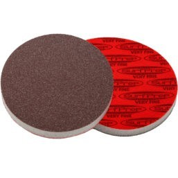 SurfPrep 6″ Foam Pads – 10MM Thick (Premium Red A/O)