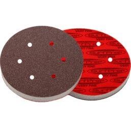 SurfPrep 6″ Foam Pads – 10MM Thick (Premium Red A/O)