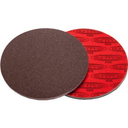 SurfPrep 6″ Foam Pads – 5MM Thick (Premium Red A/O)