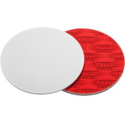 SurfPrep 6″ Foam Pads – 5MM Thick (Premium White A/O)