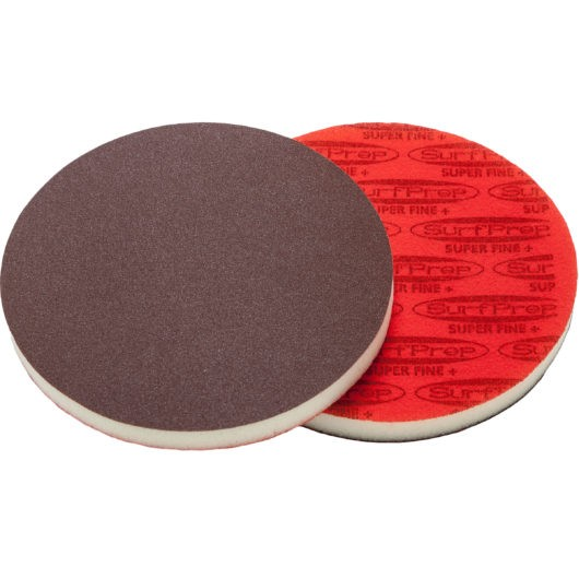SurfPrep 6″ Foam Pads – 1/2″ Thick (Premium Red A/O)