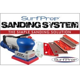 sanding system electric ray