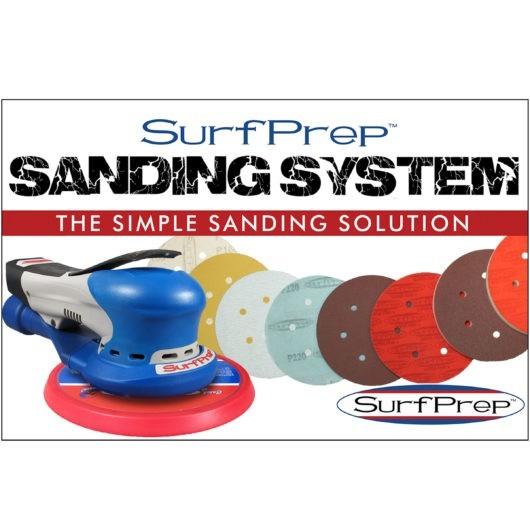 "sanding systems SurfPrep 6"" Trident 12,000 RPM Air-Powered Sander"