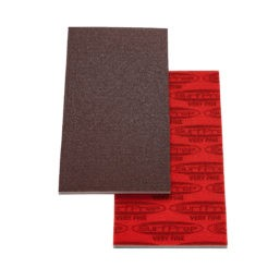 SurfPrep 3 2/3″ x 7″ Foam Pads – 5MM Thick (Premium Red A/O)