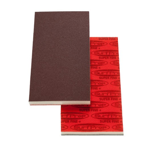 SurfPrep 3 2/3″ x 7″ Foam Pads – 5MM Thick (Premium Red A/O)