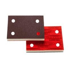 SurfPrep 3″ x 4″ Foam Pads (Premium Red A/O)