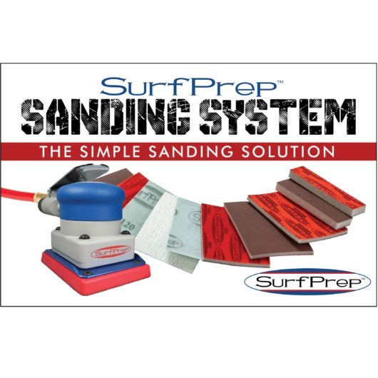 sanding system air powered sander storm
