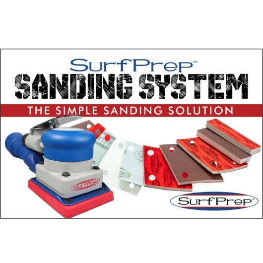 sanding system air powered sander