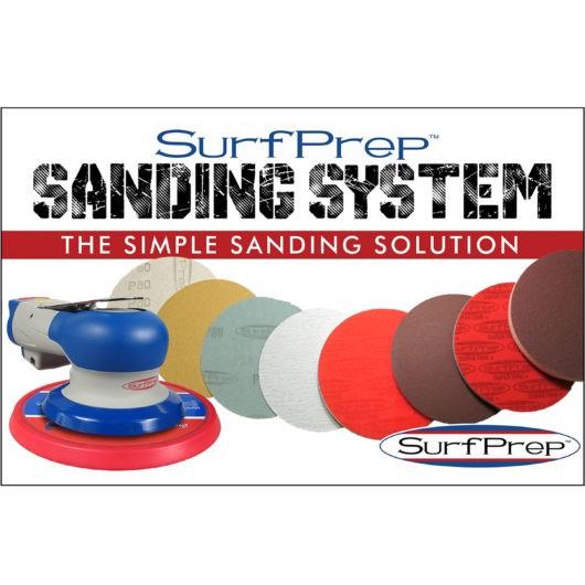 sanding systems Trident Random Orbital 12,000 RPM Air-Powered Sander