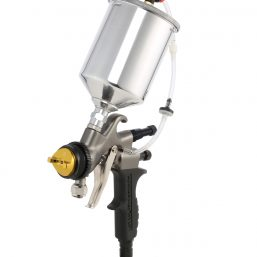 HVLP Spray Gun with Quart Cup on Top
