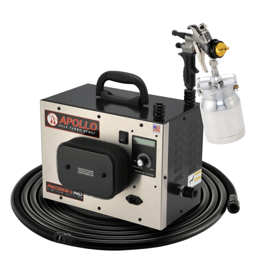 PRO LE, 5-Stage Turbo Spray System
