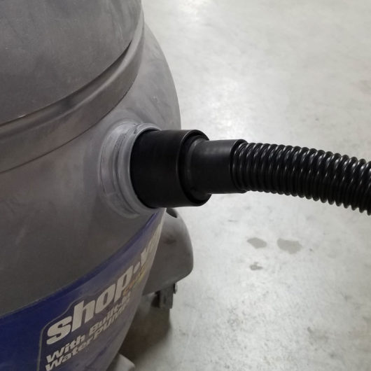 shop vac with 2 inch hose