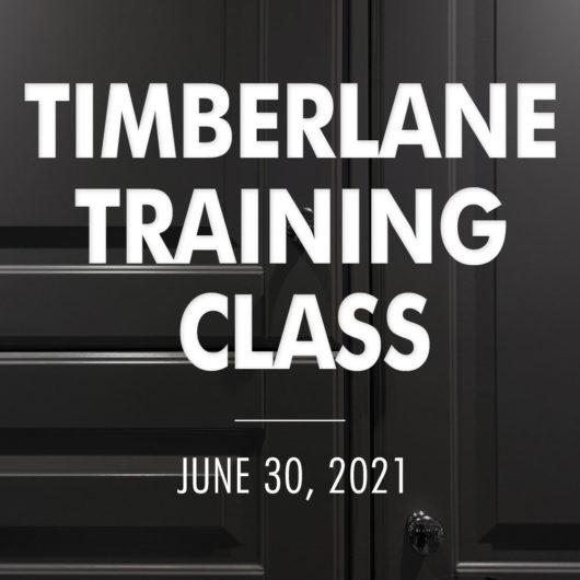 Training Class Website