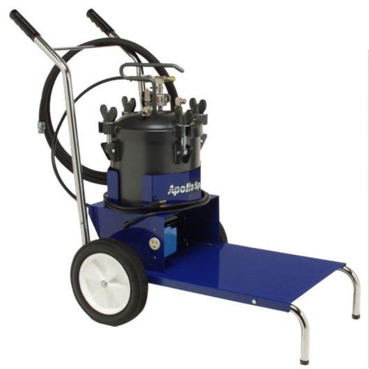 pressure pot and cart